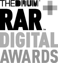 The Drum RAR Digital Awards logo